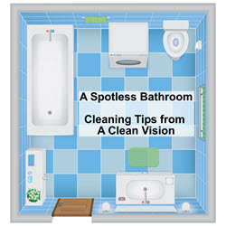 Cleaning Services - Bathroom Cleaning - A Clean Vision