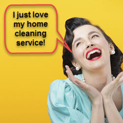How to hire a home cleaning service.