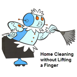 Home Cleaning without Lifting a Finger