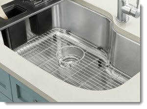 Home Cleaning Hacks Stainless Steel Sink Rack 1 A Clean Vision An Upper Valley Home Cleaning Service