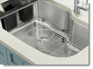 Home Cleaning Hacks - Stainless Steel Sink Rack