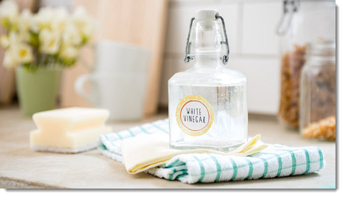 Home Cleaning Solutions with Vinegar