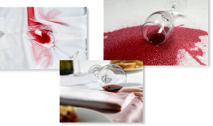 Red Wine Stains - How to Clean Them