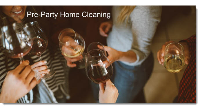 Cleaning for a Party in Your Home