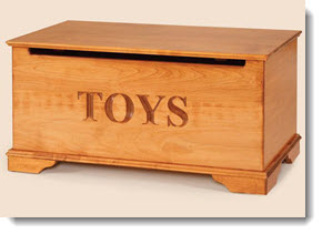 Home Cleaning Tip - Toy Storage Box
