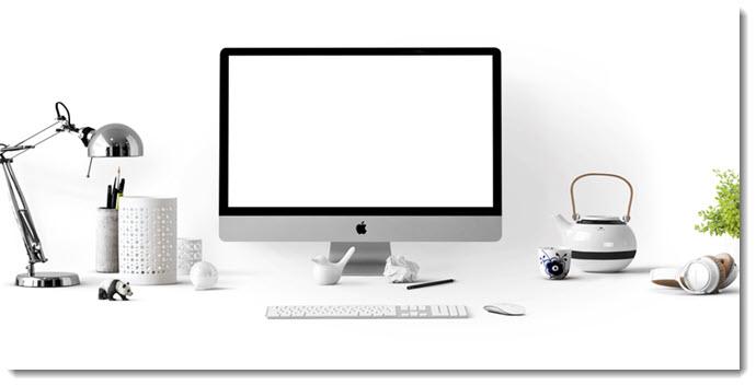 A Clutter-Free Desk
