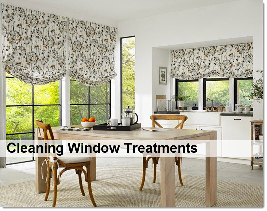 Cleaning Window Treatments